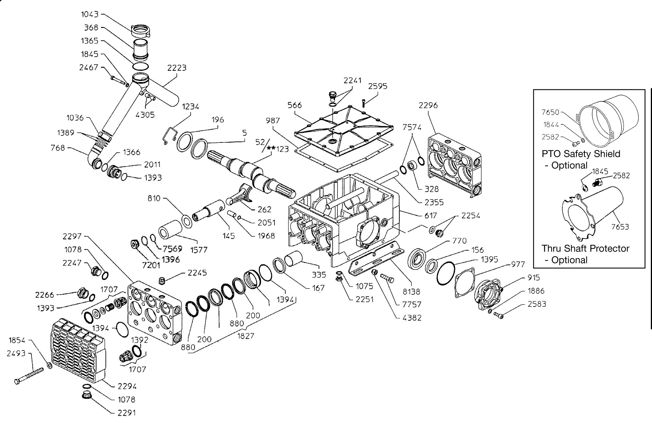 Udor gamma 202ts 1c plunger pump sprayer depot parts breakdown pooptronica